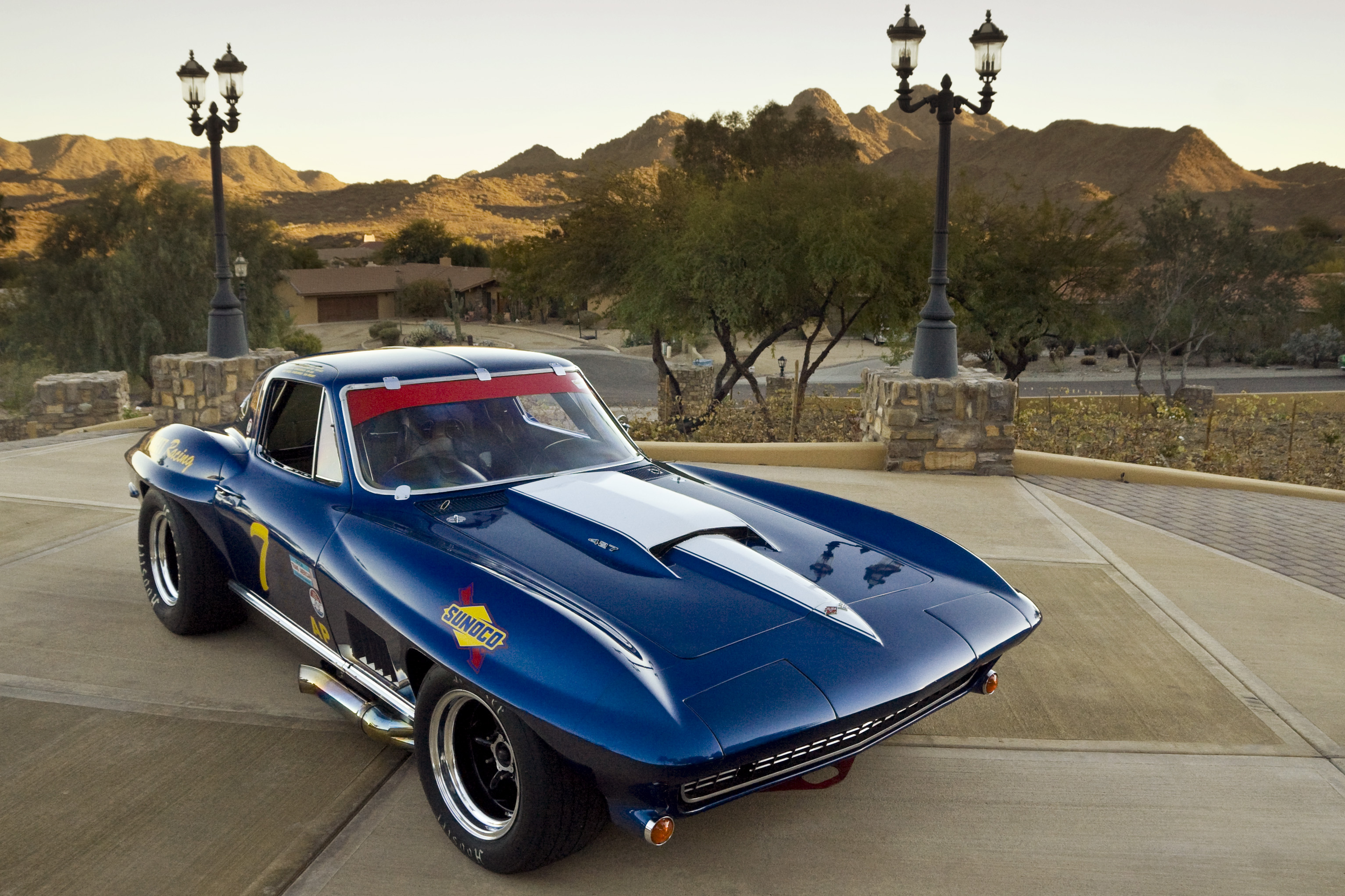 Corvette historic racer